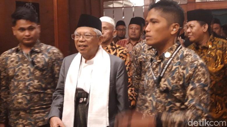 Maruf Amin Bertemu Kiai se-Jatim di Surabaya, Ini yang Dibahas