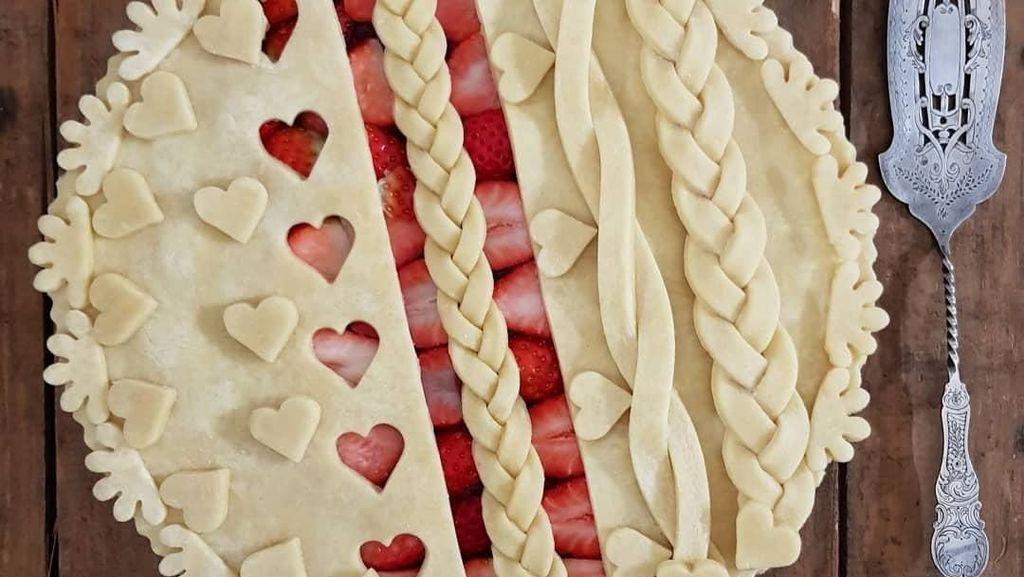 Cantik Banget! Bagai Karya Seni, Karin Pfeiff-Boschek Bikin Pie Artistik