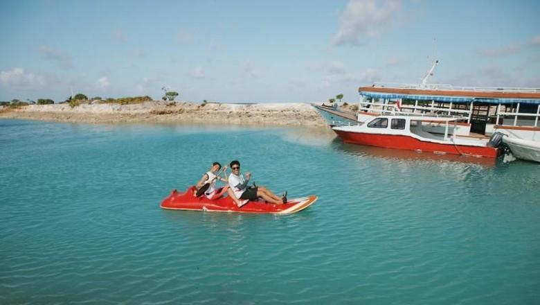 Wisata bahari di Sulawesi Tenggara. Foto: (Audi Octavia/dTraveler)