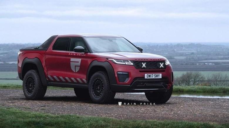 Modifikasi Range Rover Velar Foto: Pool (Carbuzz)