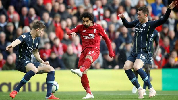 Syarat Playoff Man City vs Liverpool Terjadi
