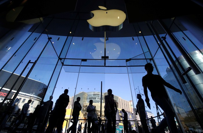 Apple Store. Foto: Jason Lee/Reuters