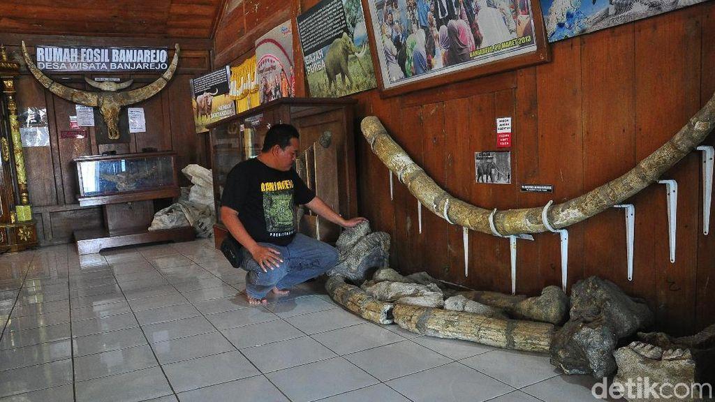 Ini Rumah Fosil dan Patung Ganesha Tidur di Jawa Tengah
