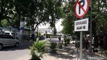 Dishub Tertibkan Parkir Liar di Trotoar Depan RSUD Bekasi