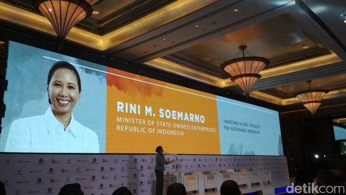 Menteri BUMN Rini Soemarno/Foto: Hendra Kusuma