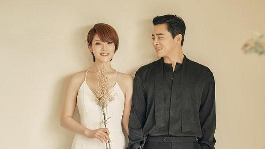 Potret Bahagia Gummy dan Jo Jung Suk yang Diam-diam Sudah Menikah