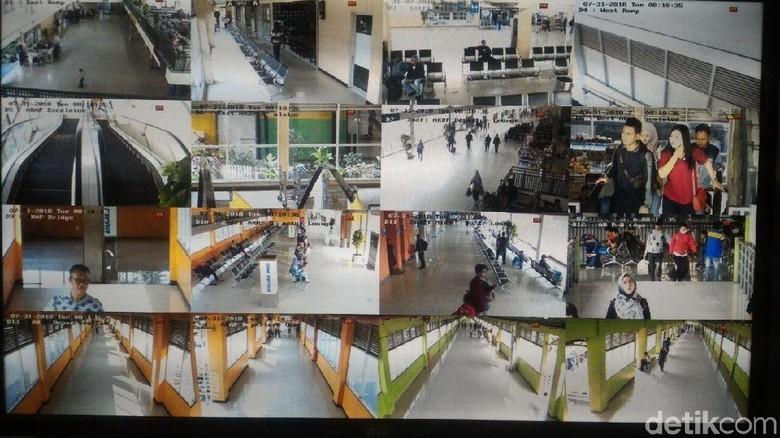 CCTV Pendeteksi Wajah Sementara Baru Terpasang di Terminal Purabaya