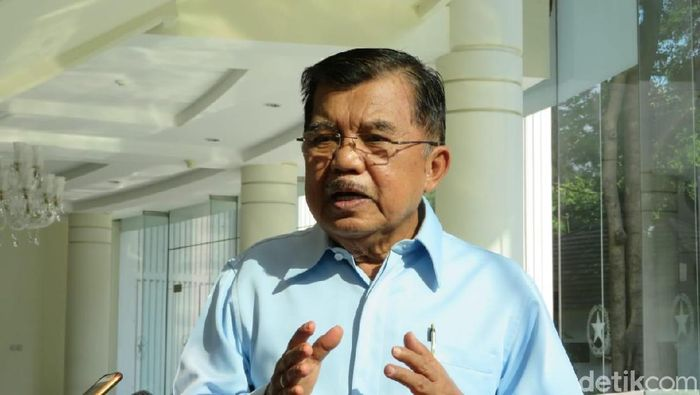 Foto: Wakil Presiden Jusuf Kalla (Noval D. Antony-detikcom)