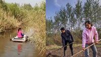 Zhu dan keluarganya tinggal di pulau yang telah dibelinya
