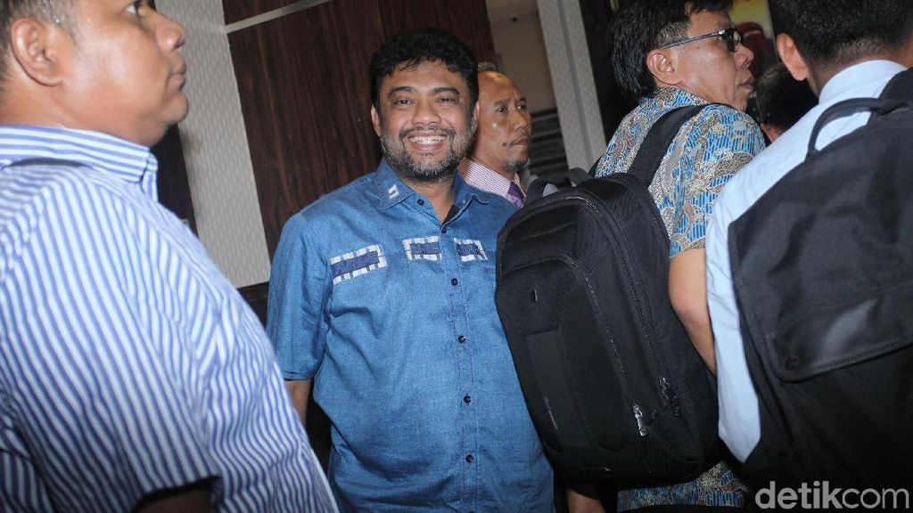 Dipanggil Polisi Soal Ratna Sarumpaet, Said Iqbal Senyum-senyum