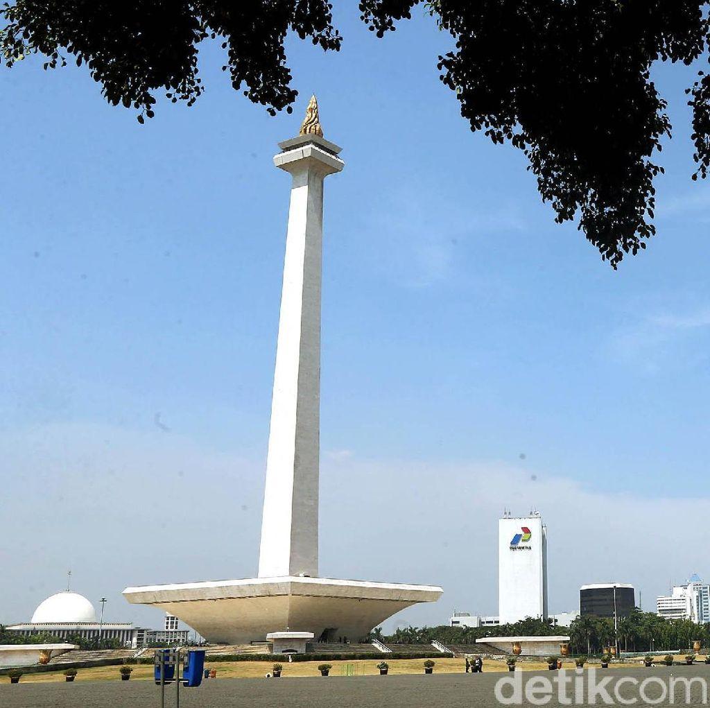 Pemprov DKI Anggarkan Rp 150 Miliar untuk Perbaiki Monas dan Taman