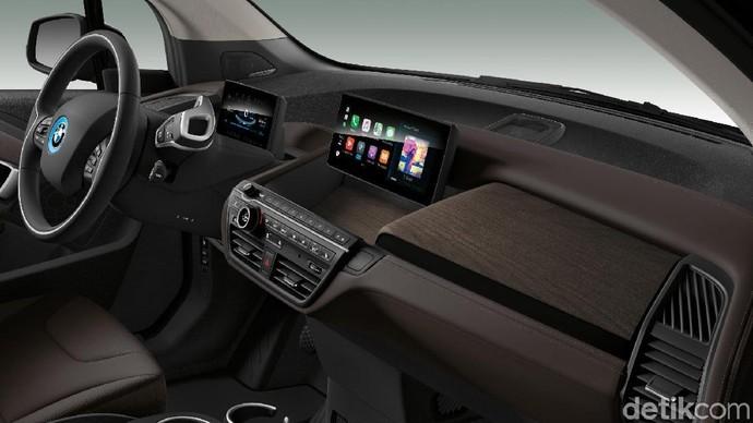 BMW baru saja merilis mobil listrik i3 dengan perubahan yang signifikan. Foto: BMW