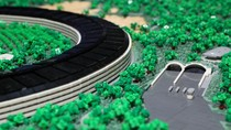 Keren! Replika Markas Utama Apple Terbuat dari Lego