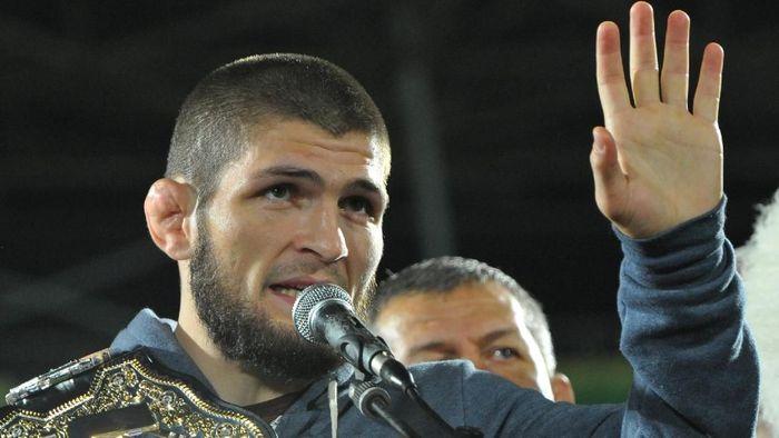 Petarung UFC muslim, Khabib Nurmagomedov. (Foto: REUTERS/Said Tsarnayev)