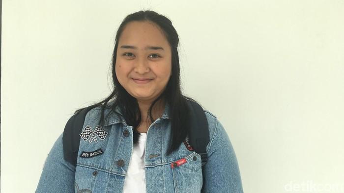 Penyintas kanker tiroid Ami Astriani. Foto: Frieda Isyana Putri