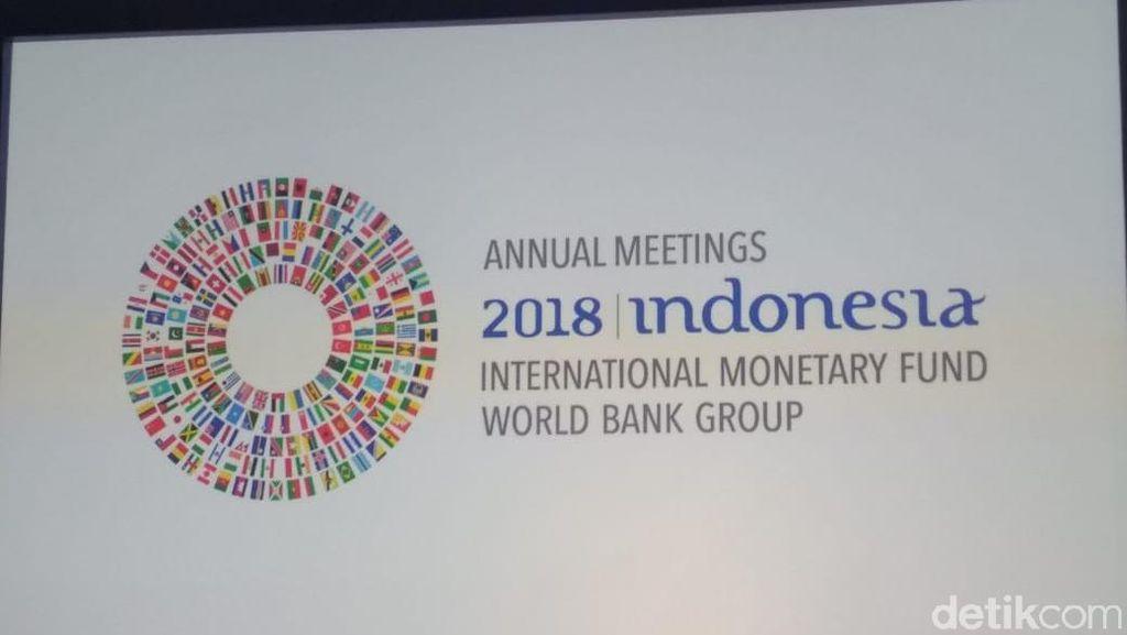 Saat Para Delegasi IMF-WB Mengheningkan Cipta untuk Korban Gempa