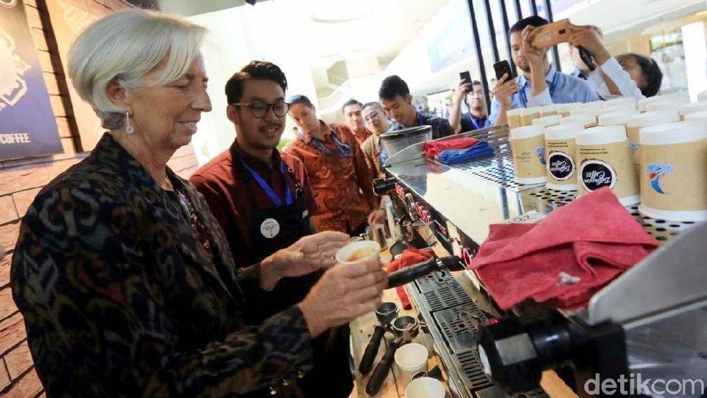 Bos IMF Cicip Kopi untuk Donasi Gempa Lombok & Palu