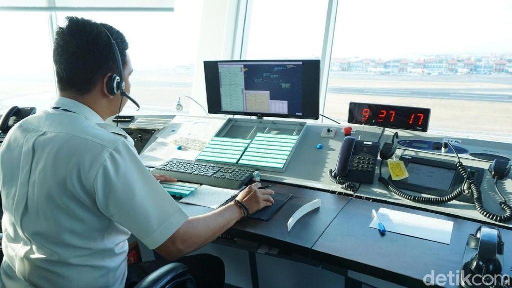 Menara ATC Baru Ngurah Rai Saat Melayani Tamu IMF-WB