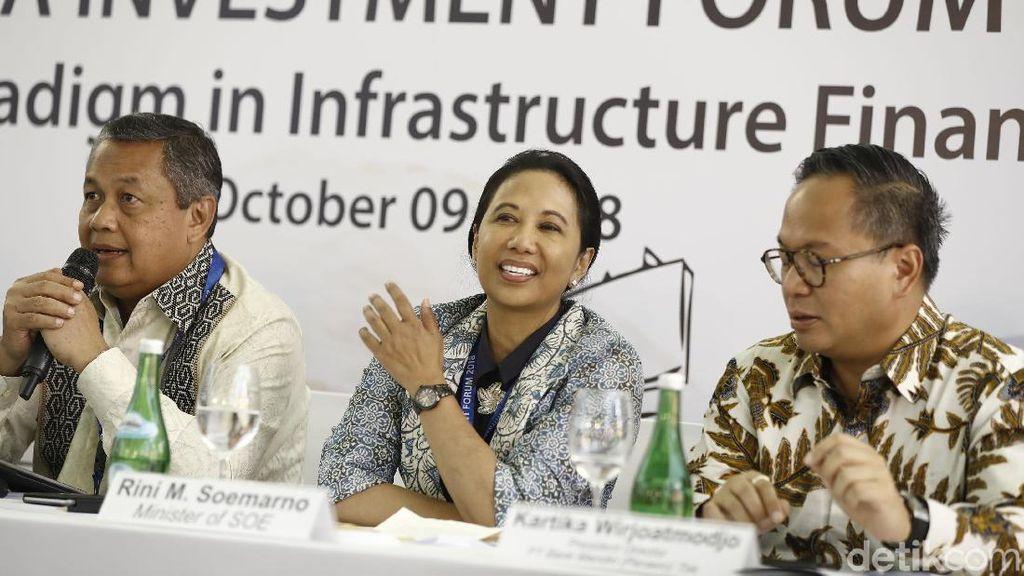 RI Jaring Investasi Infrastruktur Rp 202,5 T, Ini Daftarnya