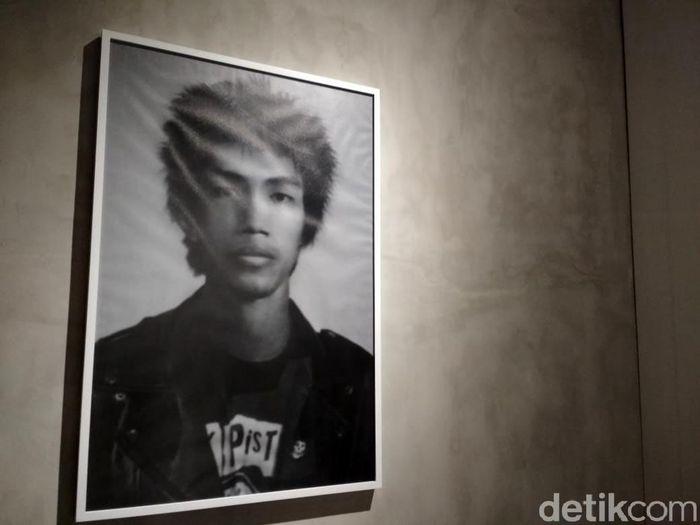 Di Art Bali 2018 ini banyak karya seni yang dipajang. Karya seni foto mirip Presiden Jokowi pun ditampilkan di Art Bali.