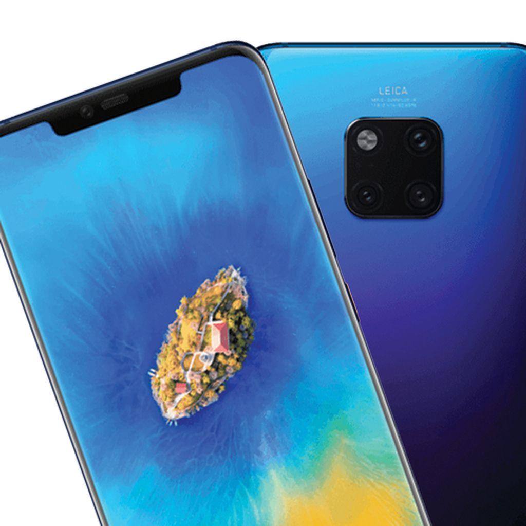 Ini Kata Huawei Soal Ponsel 4 Kamera