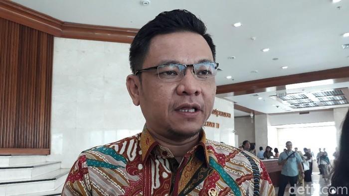 Ketua DPP Golkar Ace Hasan Syadzily (Tsarina/detikcom)
