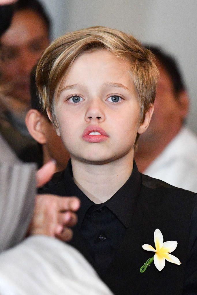 NEW YORK, NY - SEPTEMBER 14:  Shiloh Jolie-Pitt attends the