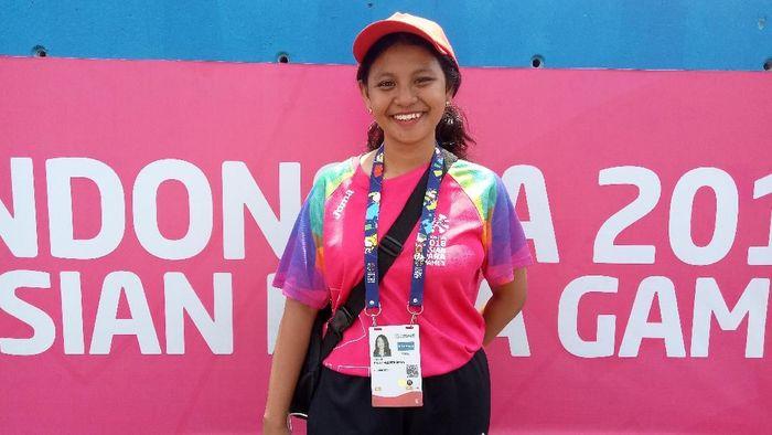 Volunter Asian Para Games 2018. (Foto: Amalia Dwi Septi)
