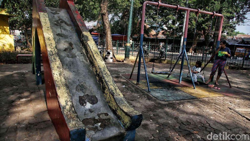 Kondisi Taman Gorontalo Kini Tak Terawat