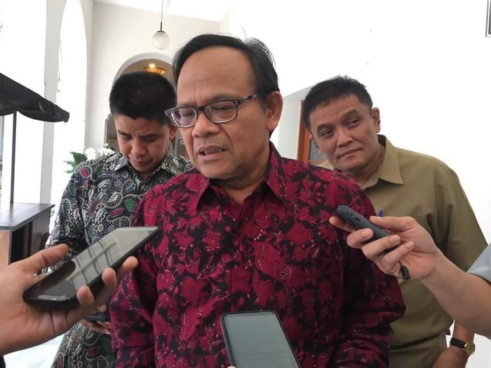 Ketua Harian Komite Pembangunan Universitas Islam Internasional Indonesia (UIII) Komarudin Hidayat