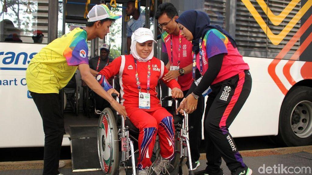 Ramahnya Volunteer Asian Para Games 2018