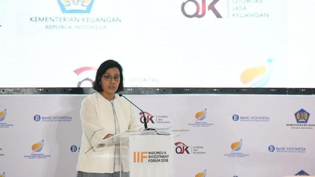 Ketika Sri Mulyani Happy Neraca Dagang RI Surplus