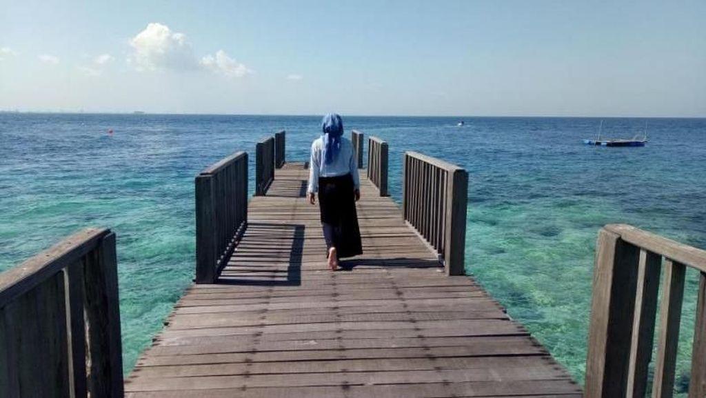Terpesona Cantiknya Pulau di Makassar