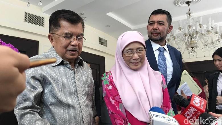 Bertemu JK, Wakil PM Malaysia Bahas Bantuan untuk Sulteng