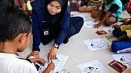 PMI Pulihkan Anak-anak dari Trauma Gempa-Tsunami Sulteng