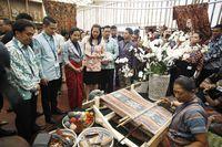 Rini Buka Indonesia Pavilion, 'Jendela RI' di Pertemuan IMF-WB 2018