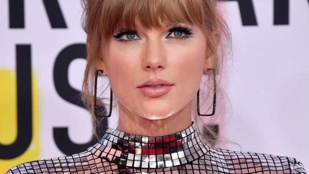 Ganteng! Taylor Swift Jadi Cowok Berjenggot di Video Klip The Man