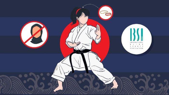 Ilustrasi judo. (Foto: dok.Infografis)
