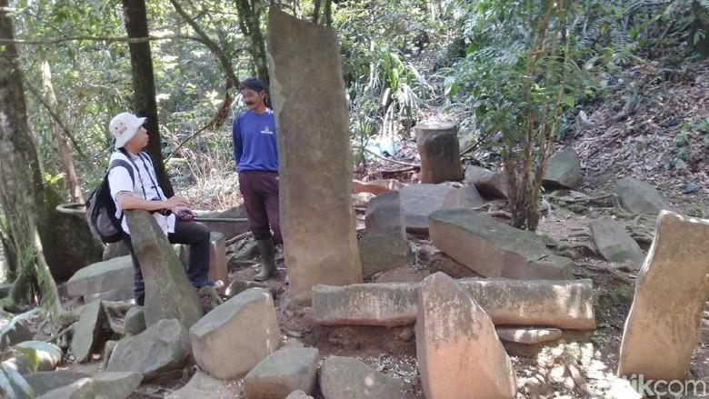 Bebatuan di Situs Budaya Batu Panjang Ciamis (Dadang Hermansyah/detikTravel)