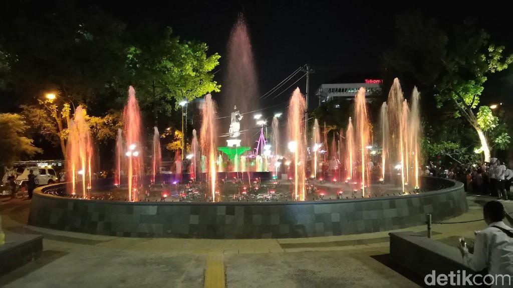Keren! Taman Indonesia Kaya Semarang yang Dibuka Malam ini