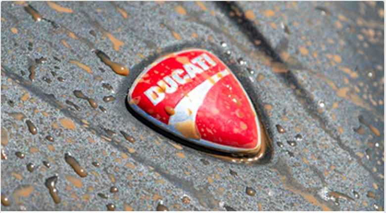 Logo Ducati. Foto: dok. Ducati