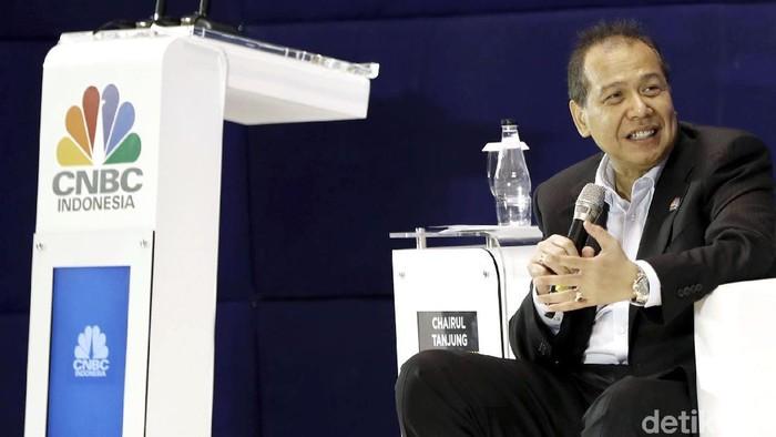 Sejumlah tokoh hadir dalam diskusi ekonomi yang digelar oleh CNBC TV. Diskusi itu pun membahas mengenai kondisi ekonomi Indonesia saat ini.