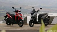 Handling Honda Vario 125 ISS vs Yamaha Lexi 125 S, Siapa Unggul?