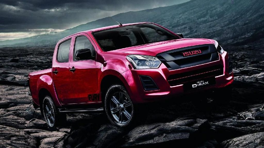 Isuzu D-Max Limited Edition Disapa Fury