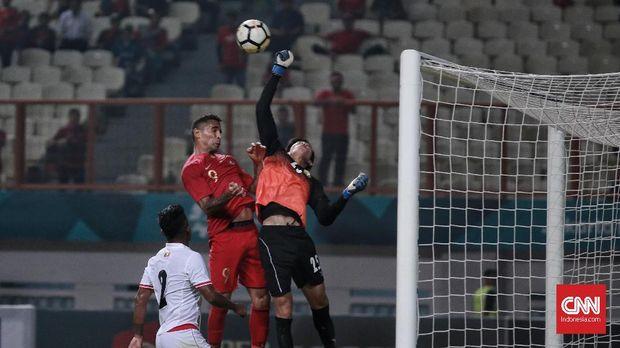 Beto Goncalves mebuka keunggulan Timnas Indonesia vs Myanmar.