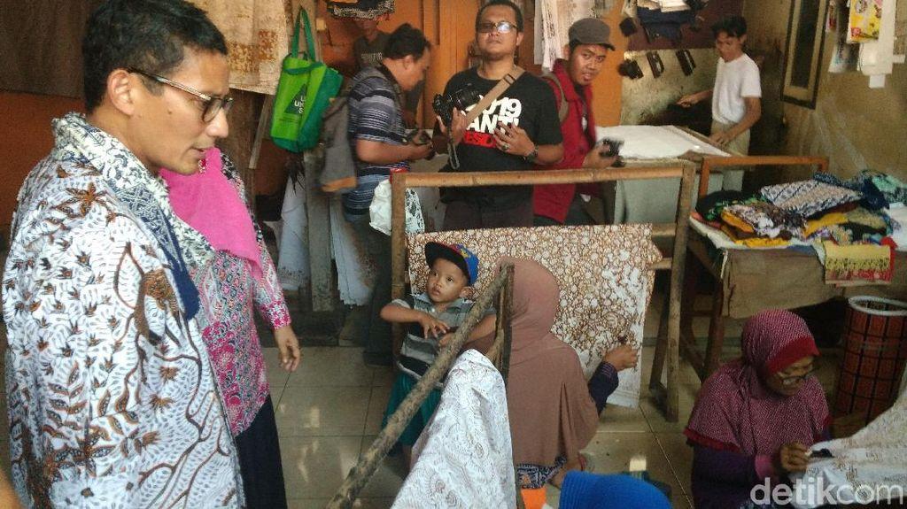 Tips Sandi ke Perajin Batik Indramayu Agar Tahan Gempuran Dolar AS