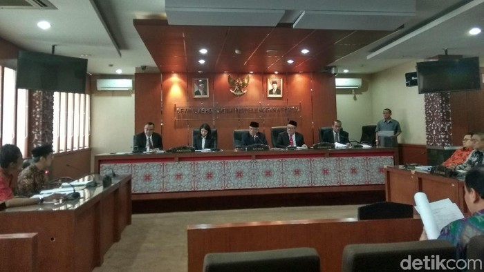 DKPP gelar sidang dugaan pelanggaran kode etik dua anggota Bawaslu