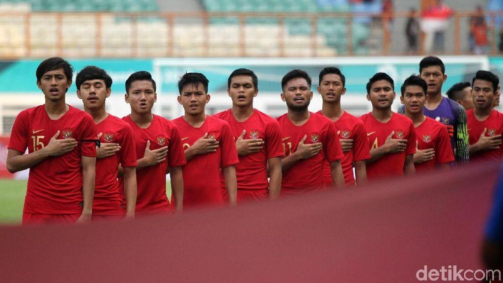 Indonesia U-19 Ungguli Yordania 1-0 di Babak Pertama