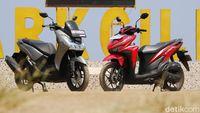 Spesifikasi Honda Vario 125 vs Yamaha Lexi, Mana Lebih Unggul?