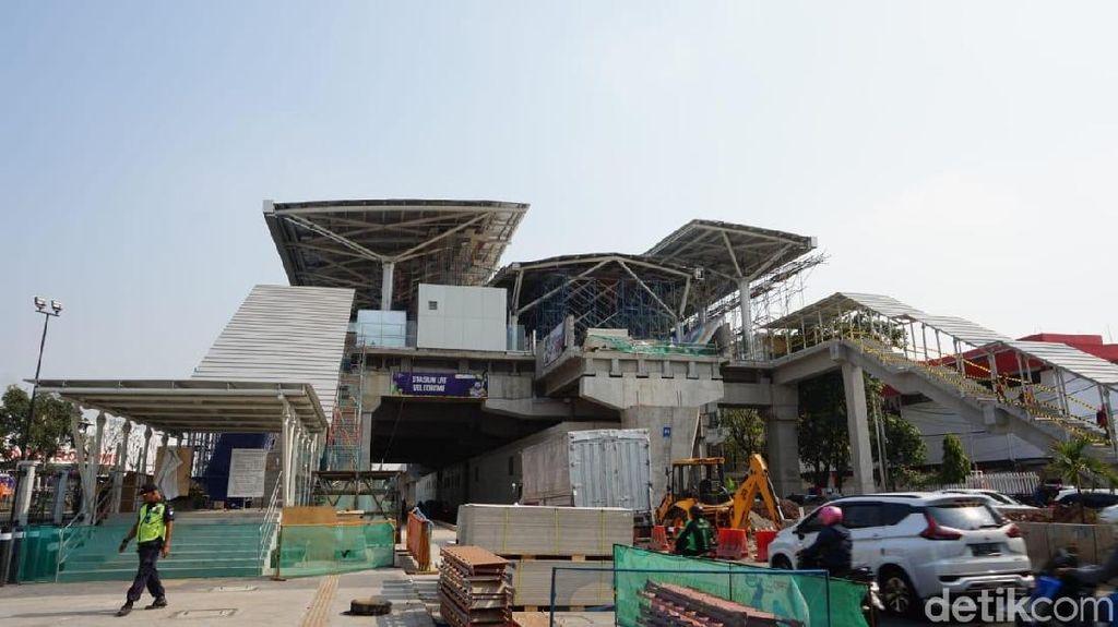 Hampir Rampung, LRT Velodrome-Kelapa Gading Sudah 92%